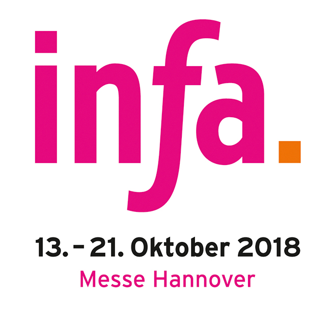Besuchen Sie uns auf der Infa 2018